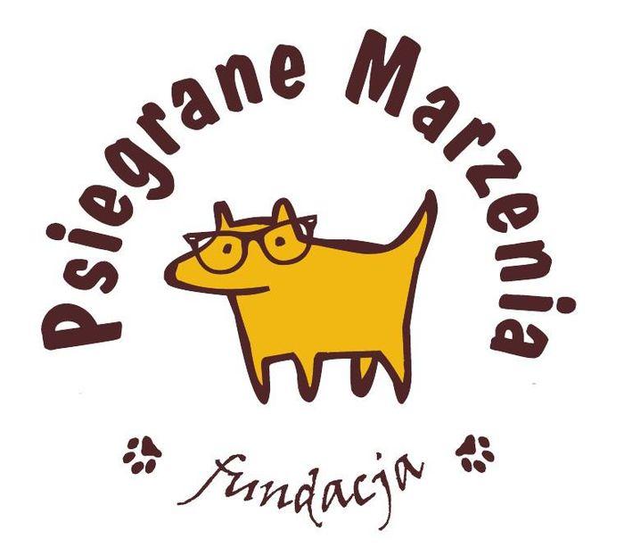 """Fundacja """"Psiegrane Marzenia"""" - logotyp/zdjęcie"""