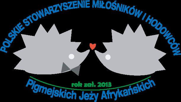 Polskie Stowarzyszenie Miłośników i Hodowców Pigmejskich Jeży Afrykańskich - logotyp/zdjęcie