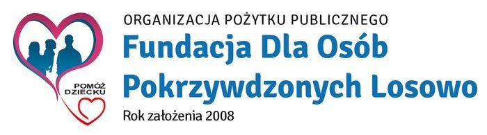 FUNDACJA DLA OSÓB POKRZYWDZONYCH LOSOWO - logotyp/zdjęcie