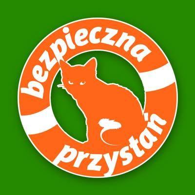 """Fundacja Ochrony Zwierząt """"Bezpieczna Przystań"""" - logotyp/zdjęcie"""