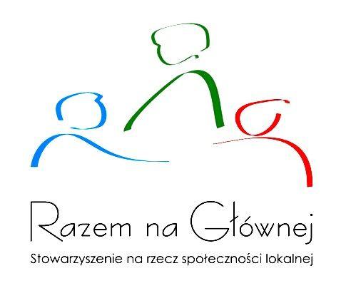 """""""Razem na Głównej"""" Stowarzyszenie na Rzecz Społeczności Lokalnej - logotyp/zdjęcie"""