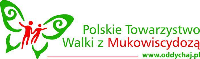 Polskie Towarzystwo Walki z Mukowiscydozą - logotyp/zdjęcie