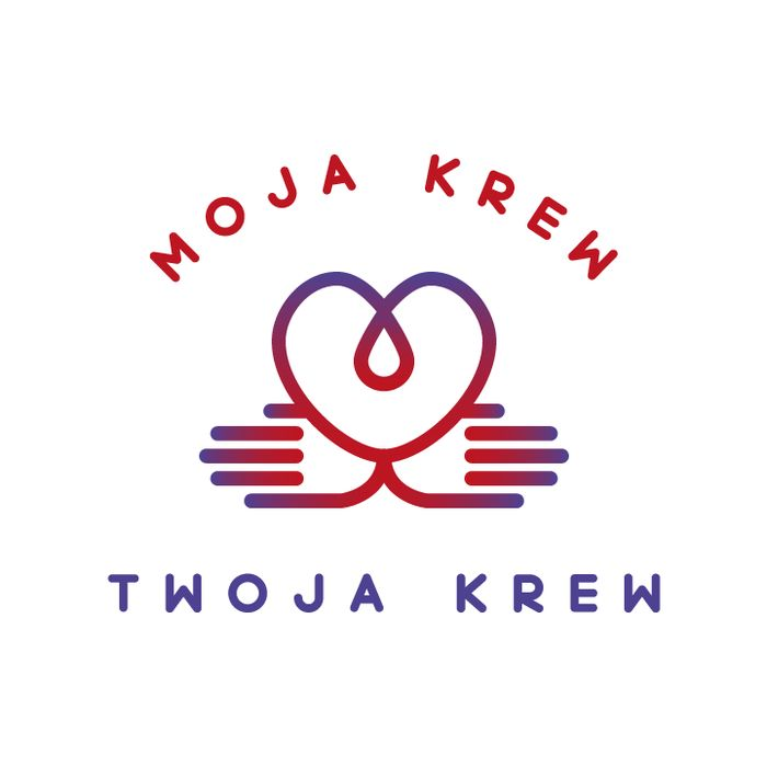 Moja krew - Twoja krew - logotyp/zdjęcie