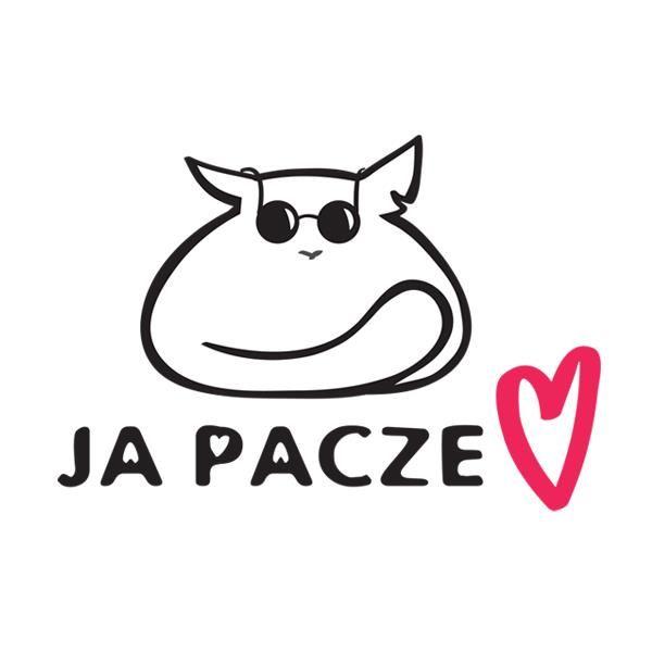 """""""Ja Pacze Sercem"""" Fundacja Pomocy Kotom Niewidomym - logotyp/zdjęcie"""