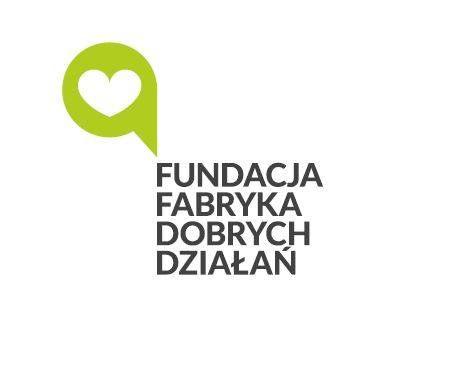 Fundacja Fabryka Dobrych Działań - logotyp/zdjęcie
