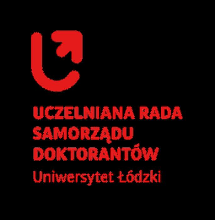 Uczelniana Rada Samorządu Doktorantów UŁ - logotyp/zdjęcie