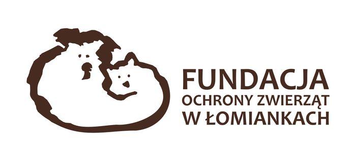 Fundacja Ochrony Zwierząt w Łomiankach - logotyp/zdjęcie