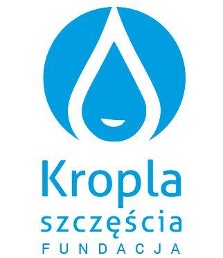 """Fundacja """"Kropla Szczęścia"""" - logotyp/zdjęcie"""