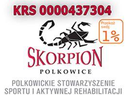 Skorpion Polkowice - logotyp/zdjęcie