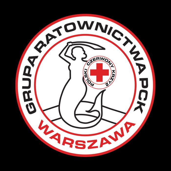Grupa Ratownictwa PCK Warszawa - logotyp/zdjęcie
