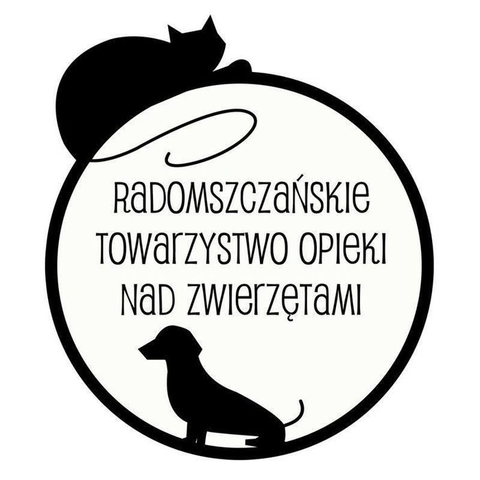 Radomszczańskie Towarzystwo Opieki nad Zwierzętami - logotyp/zdjęcie