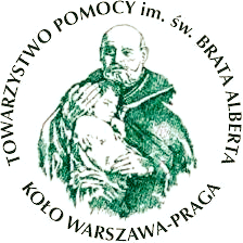 Towarzystwo Pomocy im.św. Brata Alberta Koło Warszawa - Praga - logotyp/zdjęcie
