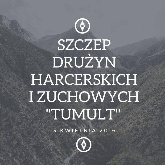 """Szczep Drużyn Harcerskich i Zuchowych """"Tumult"""" - logotyp/zdjęcie"""