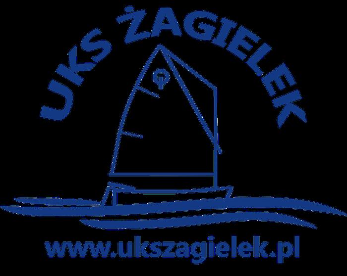 """Uczniowski Klub Sportowy """"Żagielek"""" - logotyp/zdjęcie"""