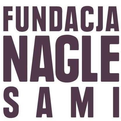 """Fundacja """"NAGLE SAMI"""" - logotyp/zdjęcie"""