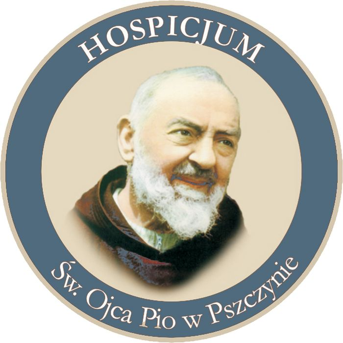Hospicjum św. Ojca Pio w Pszczynie - logotyp/zdjęcie