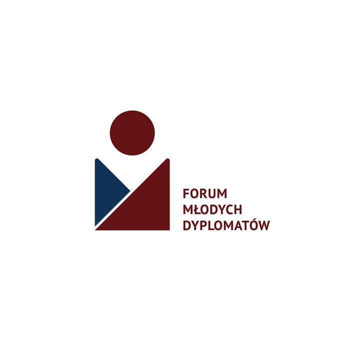 Forum Młodych Dyplomatów - logotyp/zdjęcie