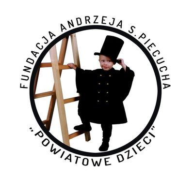 """Fundacja Andrzeja S. Piecucha """"Powiatowe Dzieci"""" - logotyp/zdjęcie"""