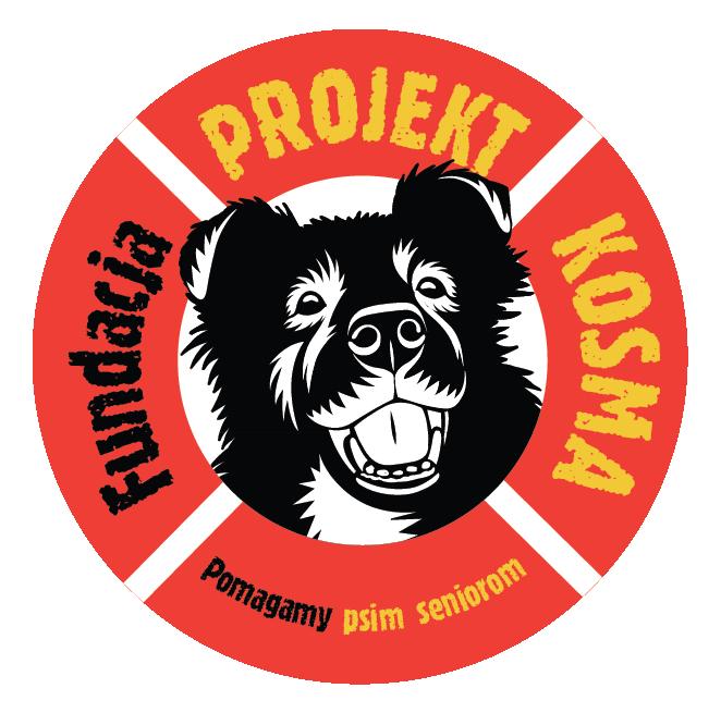 FUNDACJA PROJEKT KOSMA POMAGAMY PSIM SENIOROM - logotyp/zdjęcie