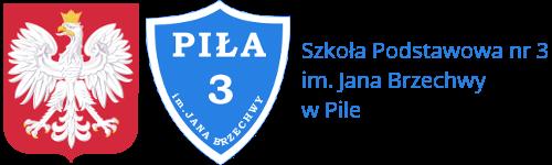 Szkoła Podstawowa nr 3 w Pile - logotyp/zdjęcie