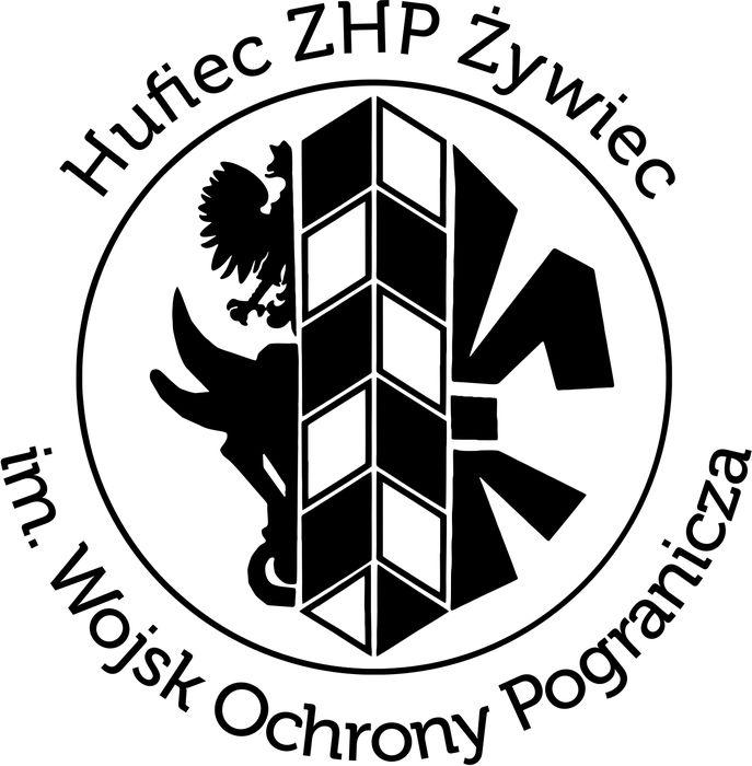 Hufiec ZHP Żywiec im. Wojsk Ochrony Pogranicza - logotyp/zdjęcie