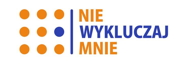 """Fundacja """"Nie wykluczaj mnie"""" - logotyp/zdjęcie"""