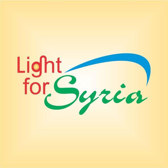 Światło dla Syrii - light for Syria - logotyp/zdjęcie