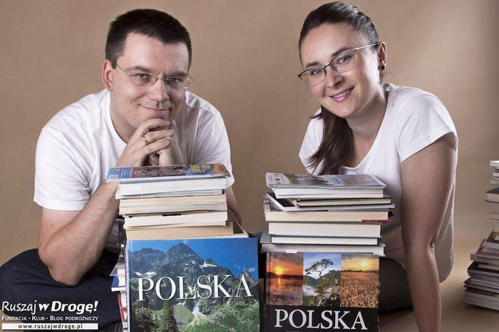 Fundacja Ruszaj w Drogę! - logotyp/zdjęcie