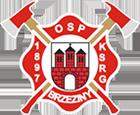 Ochotnicza Straż Pożarna w Brzezinach - logotyp/zdjęcie