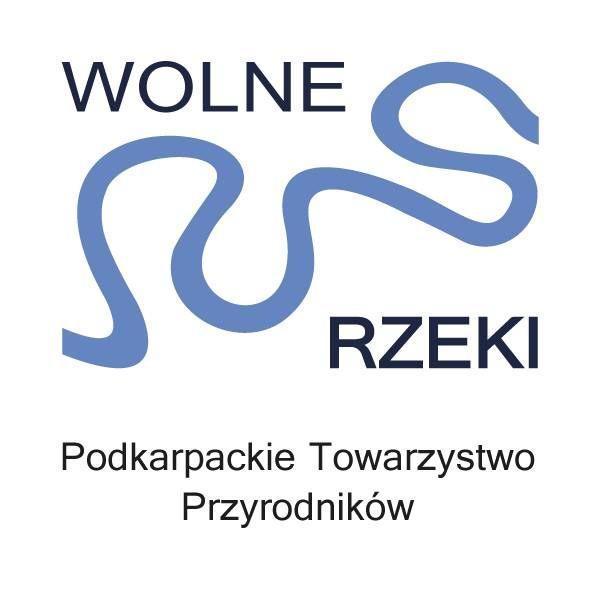 Podkarpackie Towarzystwo Przyrodników Wolne Rzeki - logotyp/zdjęcie