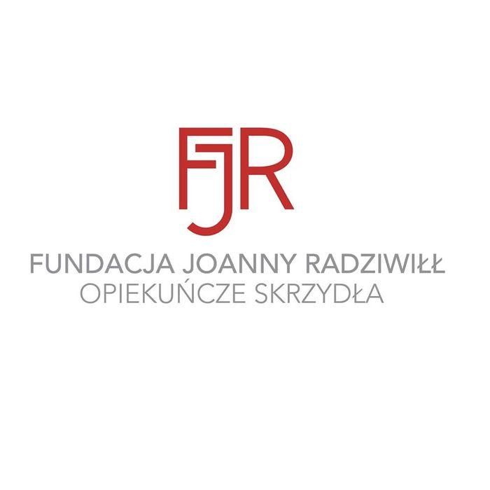 FUNDACJI JOANNY RADZIWIŁŁ OPIEKUŃCZE SKRZYDŁA - logotyp/zdjęcie