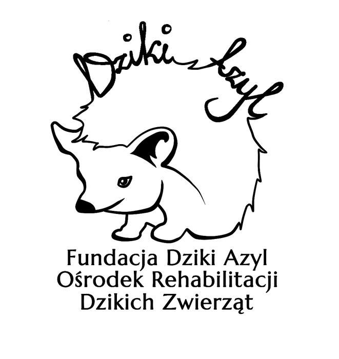 Fundacja Dziki Azyl - Centrum Pomocy dla Jeży i Dzikich Zwierząt - logotyp/zdjęcie