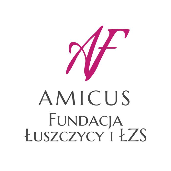 AMICUS Fundacja Łuszczycy i ŁZS - logotyp/zdjęcie