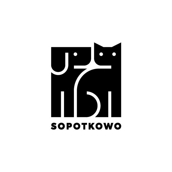 """Schronisko dla bezdomnych zwierząt w Sopocie """"Sopotkowo"""" - logotyp/zdjęcie"""