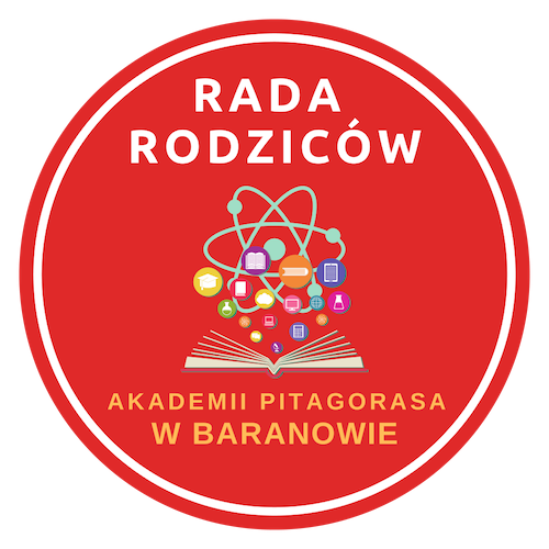 Rada Rodziców Publicznej Szkoły Podstawowej w Baranowie - Akademia Pitagorasa - logotyp/zdjęcie