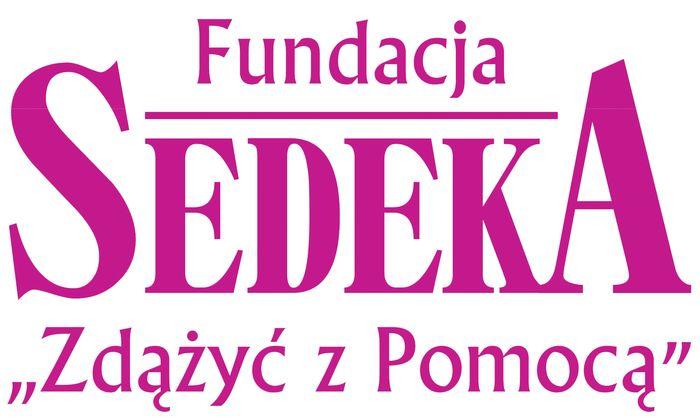Fundacja Sedeka - logotyp/zdjęcie