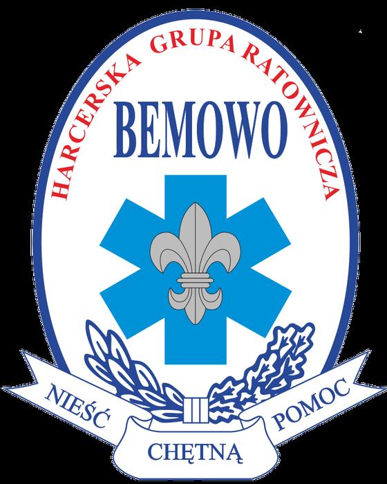 """Harcerska Grupa Ratownicza """"Bemowo"""" - logotyp/zdjęcie"""