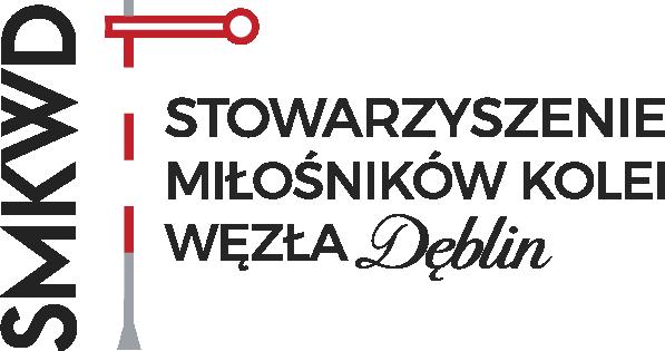 Stowarzyszenie Miłośników Kolei Węzła Dęblin - logotyp/zdjęcie