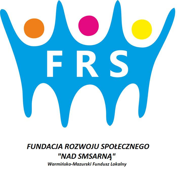 """Fundacji Rozwoju Społecznego   """"Nad Symsarną""""  Warmińsko - Mazurski Fundusz Lokalny - logotyp/zdjęcie"""