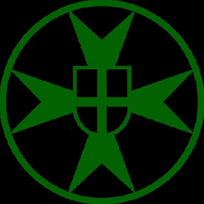 Rycerskie i Szpitalne Bractwo św. Łazarza z Jerozolimy - Stowarzyszenie Katolickie - logotyp/zdjęcie