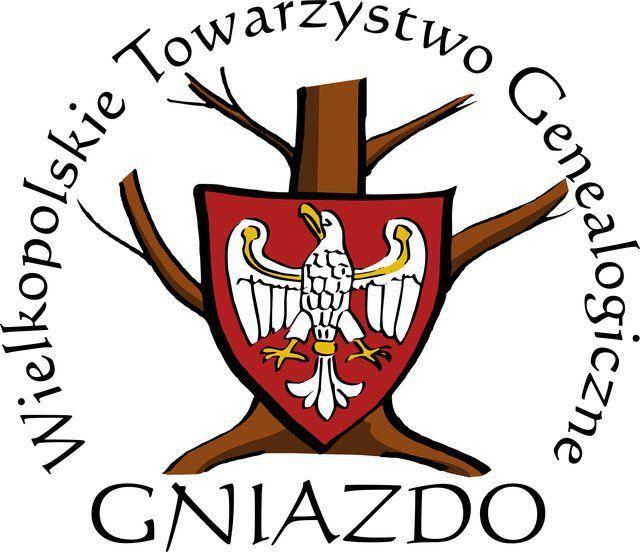 """Wielkopolskie Towarzystwo Genealogiczne """"Gniazdo"""" - logotyp/zdjęcie"""