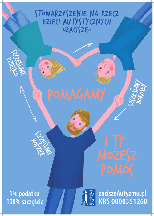 """Stowarzyszenie na Rzecz Dzieci Autystycznych """"ZACISZE"""""""