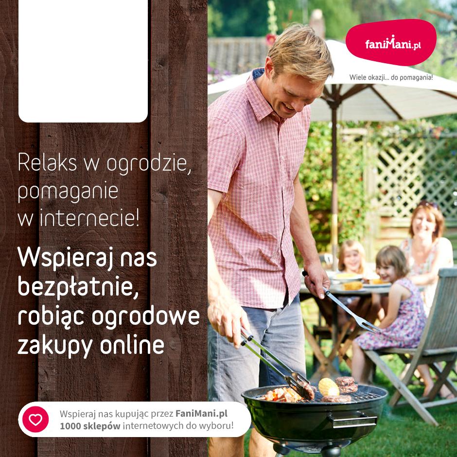 Podgląd dla: Relaks w ogrodzie, pomaganie w internecie!