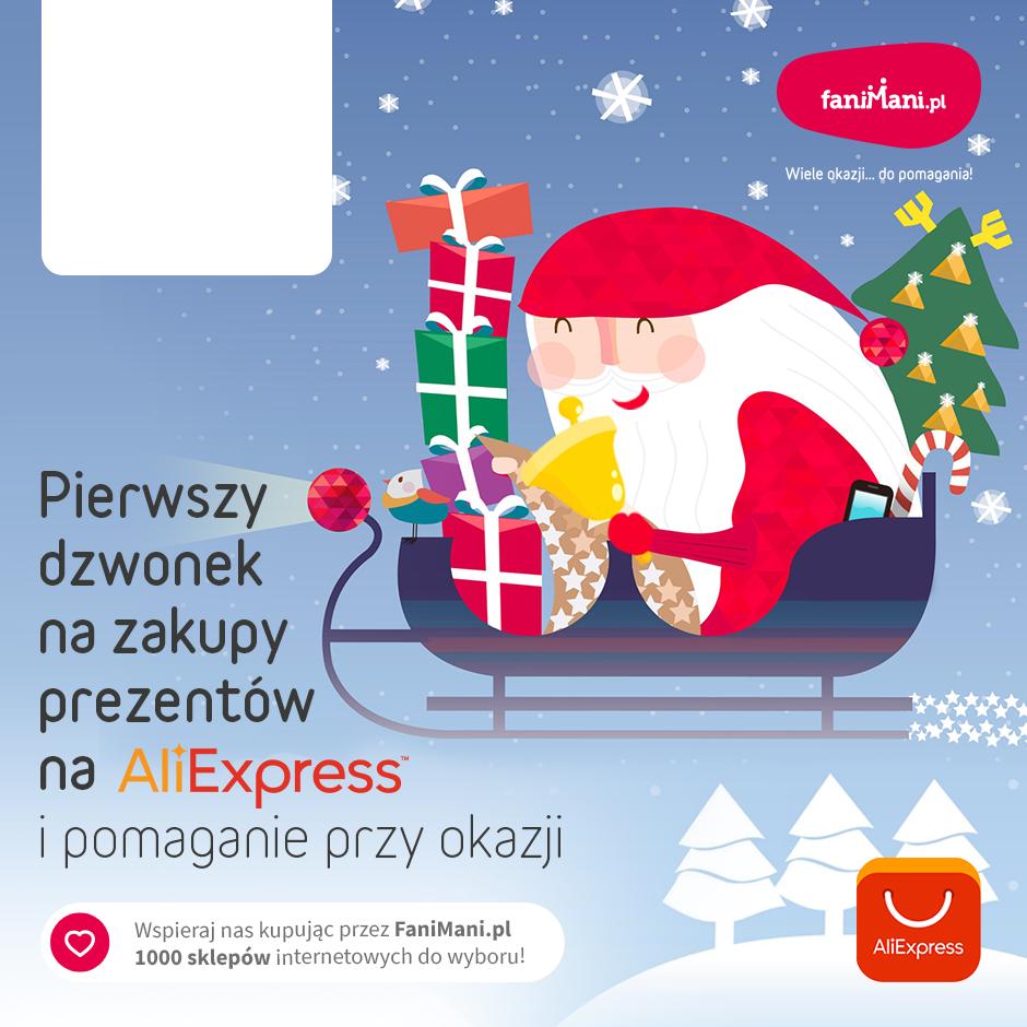 Podgląd dla: Zakupy świąteczne z AliExpress - zamów już dziś i pomagaj