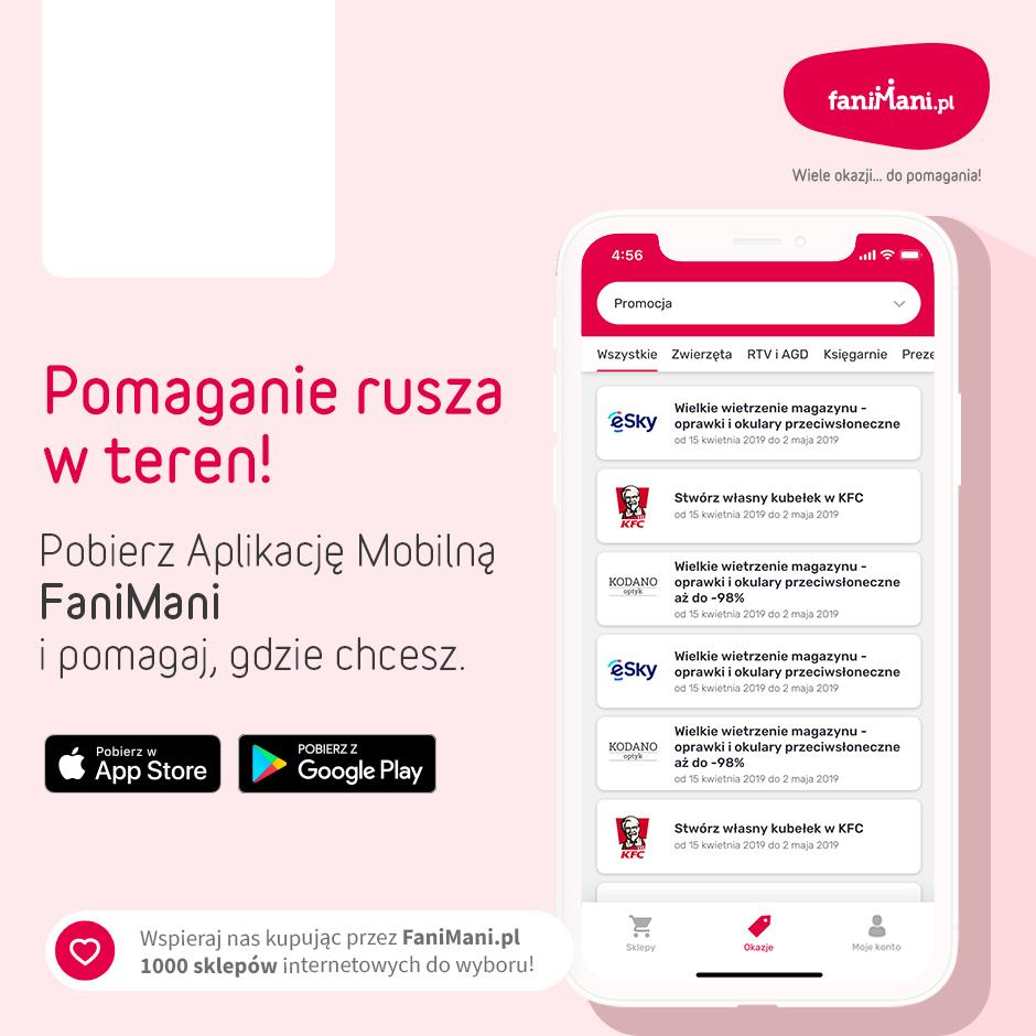 Podgląd dla: Promocja Aplikacji Mobilnej - okazje