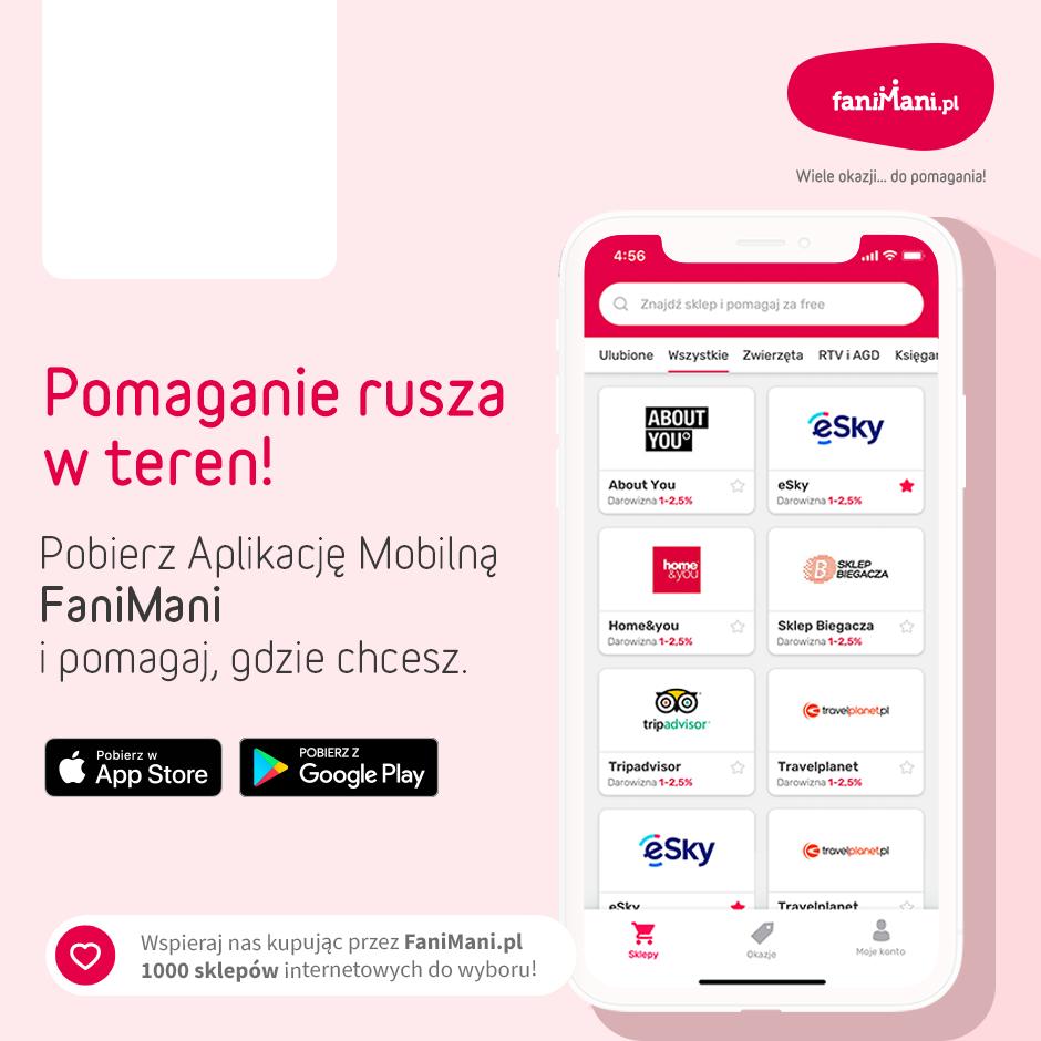 Podgląd dla: Promocja Aplikacji Mobilnej - sklepy