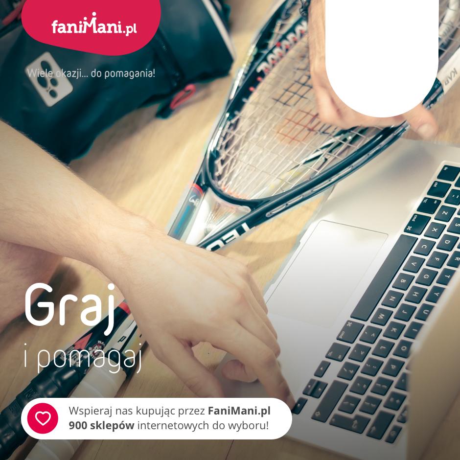 Podgląd dla: Graj i pomagaj! - grafika z Waszym logo